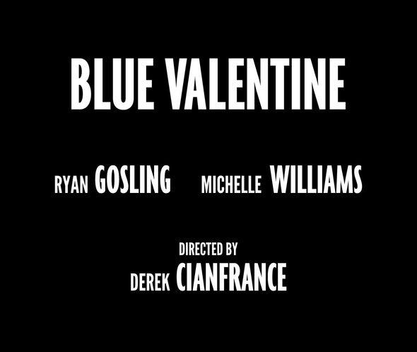 Blue Valentine - Custom typeface