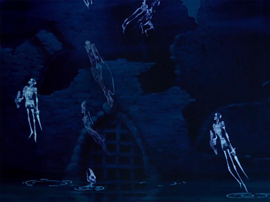 IMAGE: Fantasia still - 12 Ghosts rising