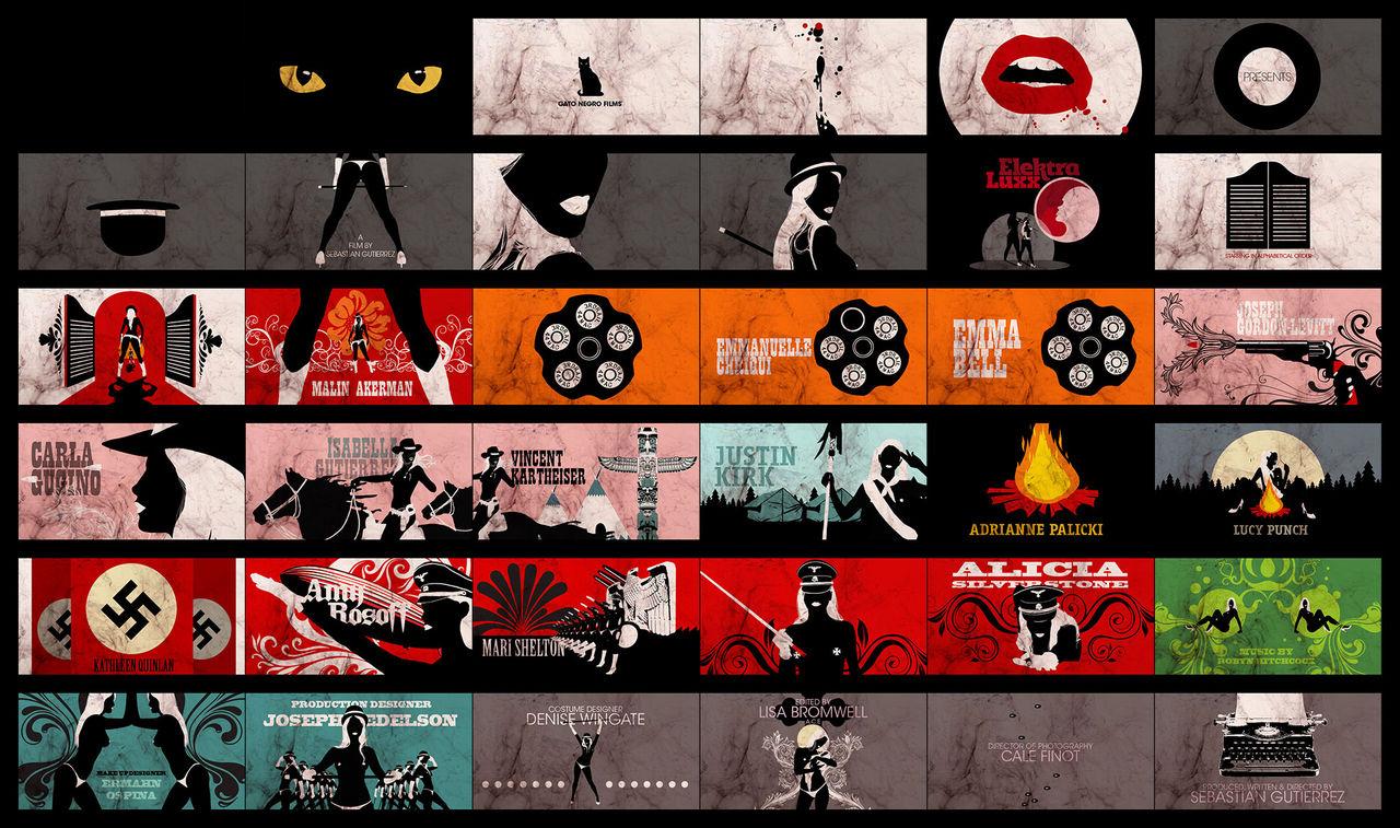 Elektra Luxx (2010) — Art of the Title