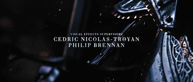 IMAGE: Still –Huntsman titles still featuring Troyan credit