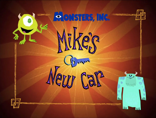 IMAGE: Mike's New Car title card