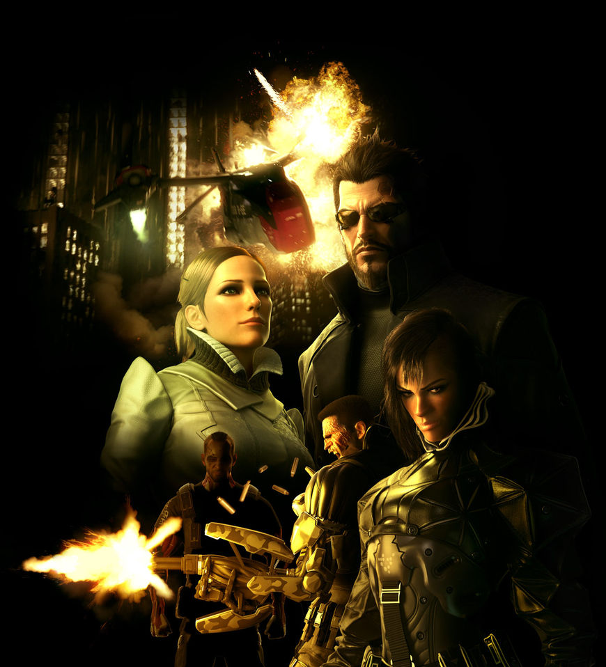Deus Ex: Human Revolution marketing artwork