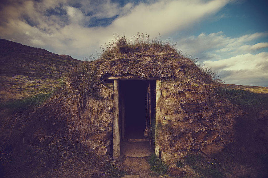 IMAGE: Photograph – Rama's photos from Iceland – doorway