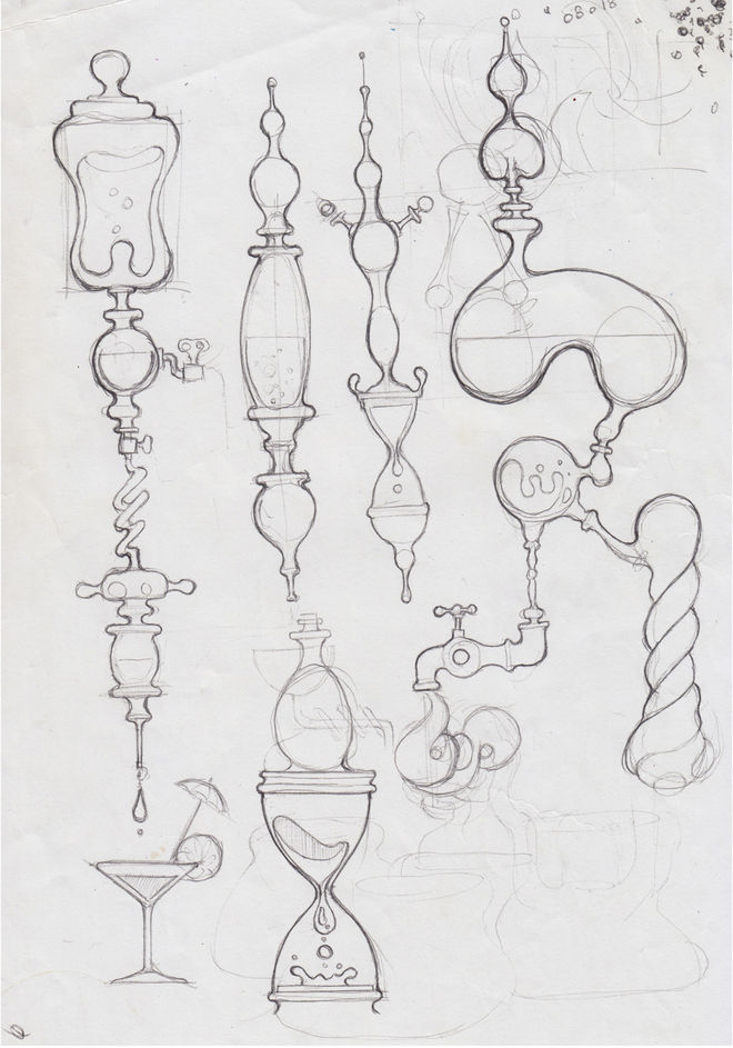 IMAGE: Sketch – Organic forms