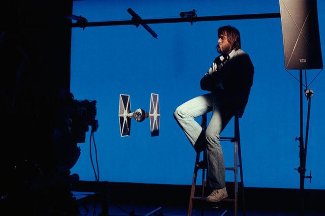 IMAGE: John Dykstra at ILM