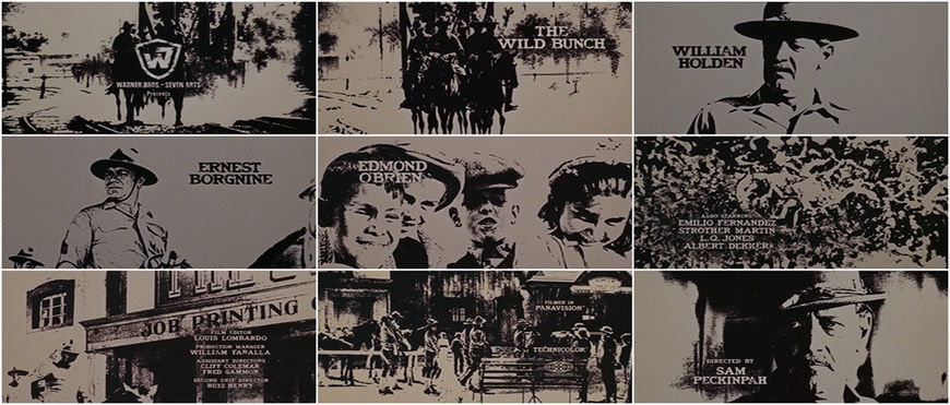 VIDEO: Title Sequence – The Wild Bunch (1969)
