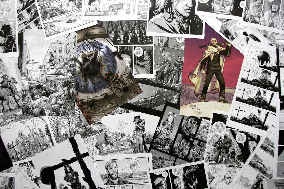 Original comic pages