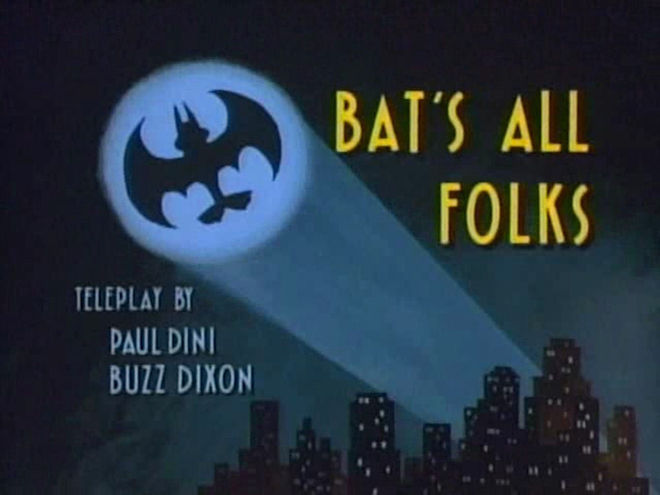 "VIDEO: Clip – Tiny Toon Adventures (1990) ""Bat's All Folks"""