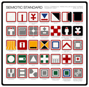 Image: Ron Cobb's Semiotic Standard for Alien