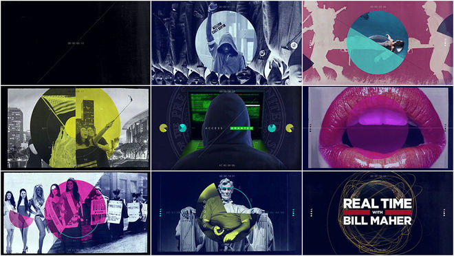 VIDEO: Title Sequence - Real Time with Bill Maher s15 main titles