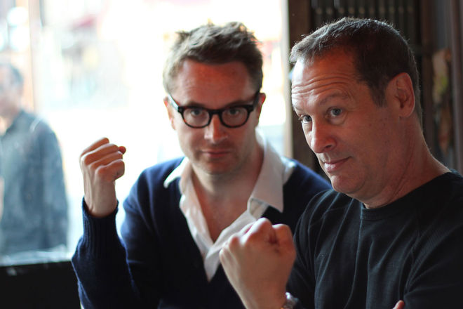 IMAGE: Nicolas Winding Refn & Cliff Martinez Photo