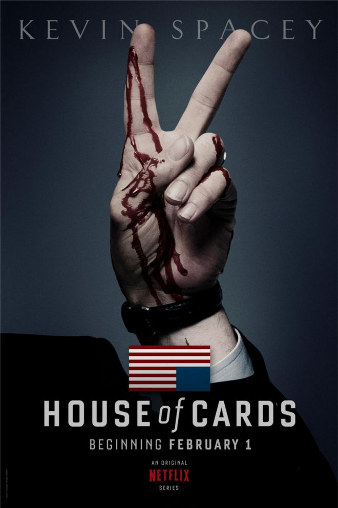 IMAGE: House of Cards teaser poster