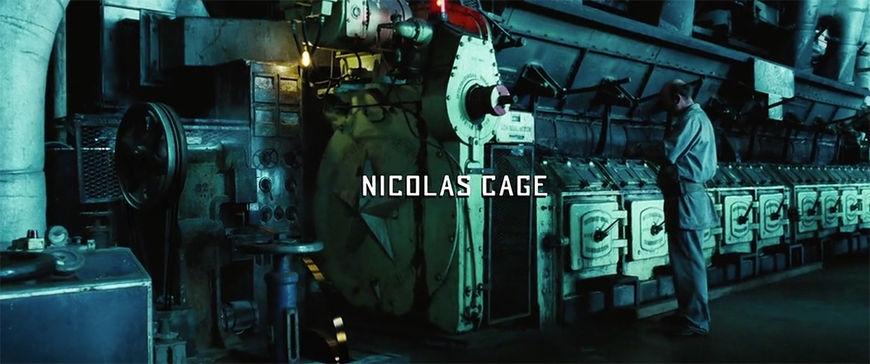IMAGE: Still - 01 Nic Cage & machine