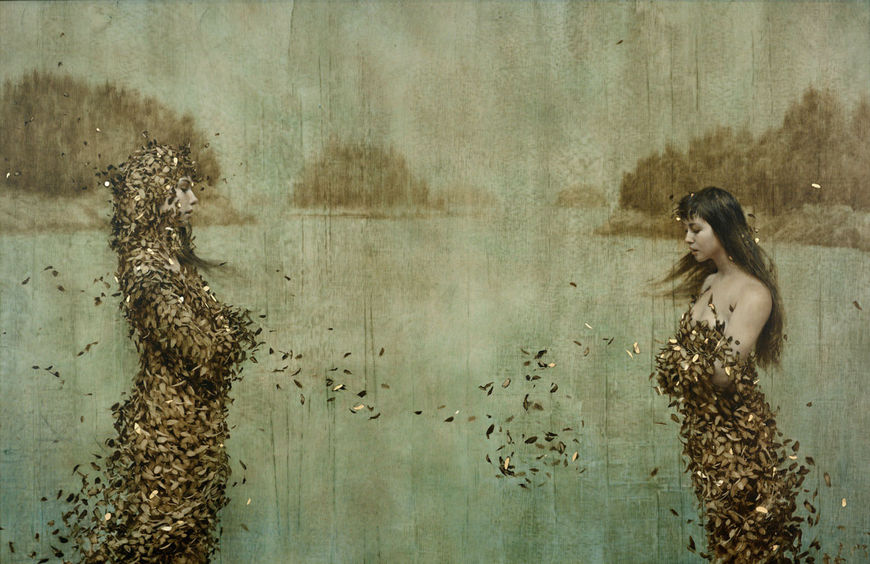 IMAGE: Work by Brad Kunkle – Islands