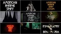 American Horror Story: 7 Seasons of Title Design