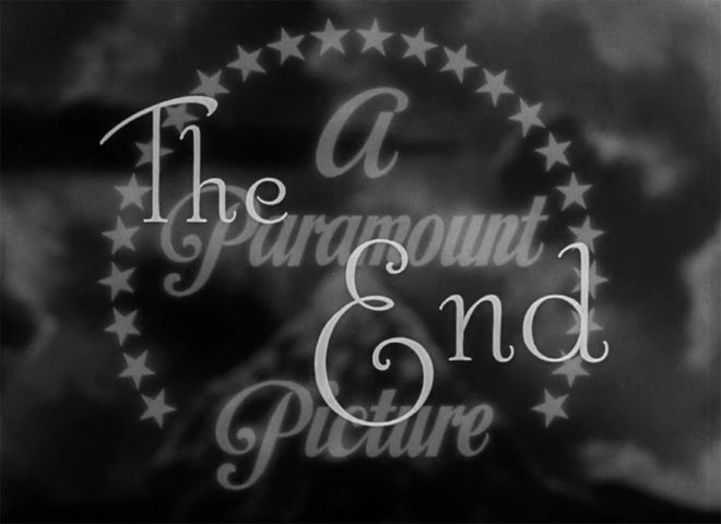 Video: The Palm Beach Story end titles