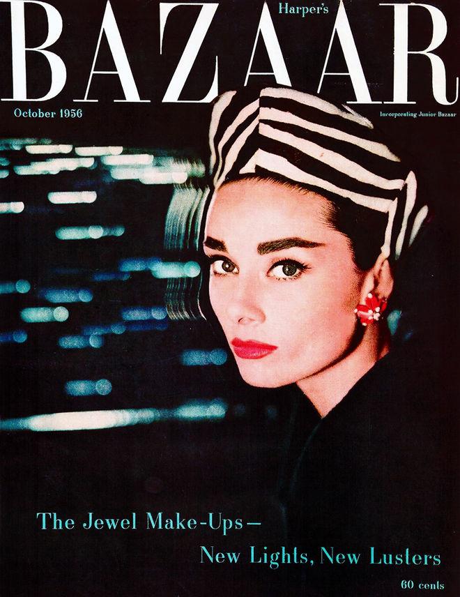 IMAGE: Audrey Hepburn Harper's Bazaar by Richard Avedon