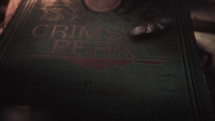 IMAGE: Crimson Peak End Title Card