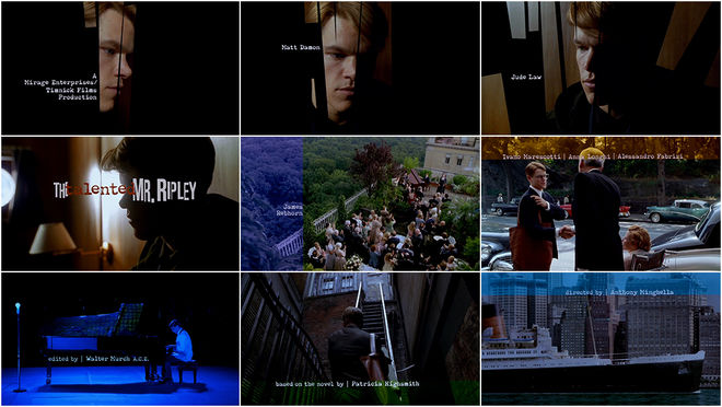 VIDEO: Title Sequence – The Talented Mr. Ripley
