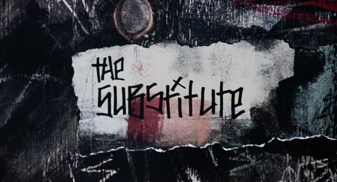 IMAGE: Substitute title card