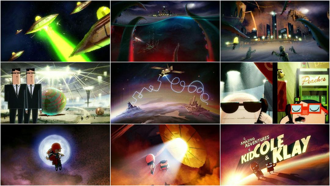 The Amazing Adventures of Kid Cole & Klay