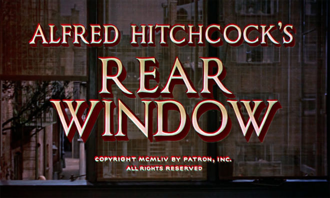 VIDEO: Title Sequence – Rear Window (1954)