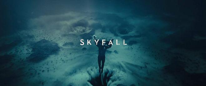 IMAGE: Skyfall title frame