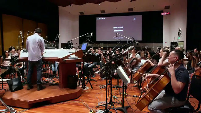 VIDEO: BTS – Star Trek: Discovery (2016) Main Title Theme Recording Session