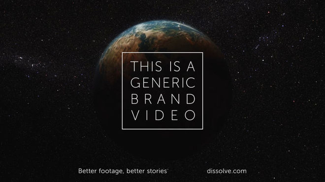 VIDEO: This Is a Generic Brand Video