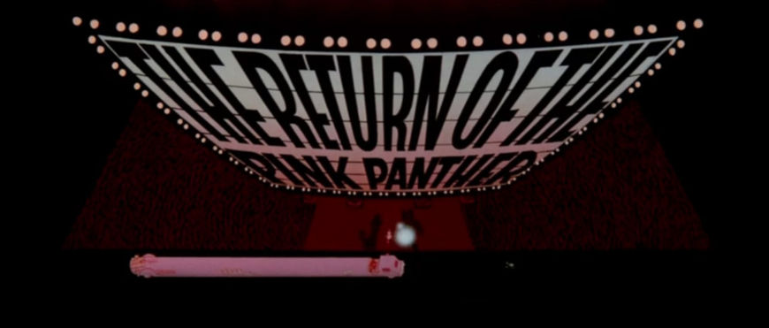 VIDEO: Title Sequence –The Return of the Pink Panther (1975)