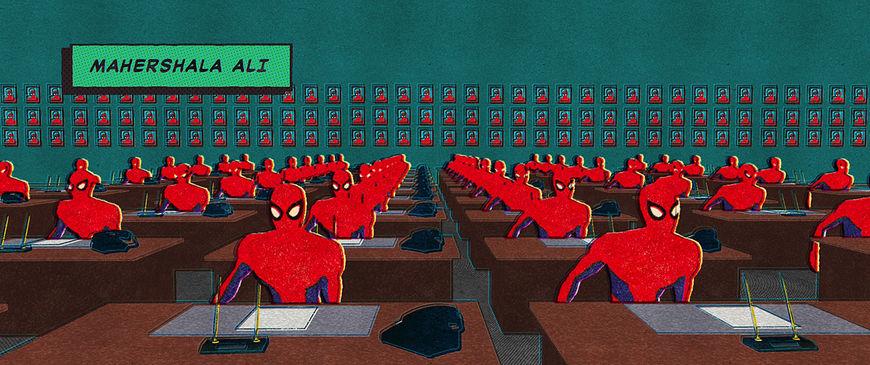 IMAGE: Still - Spiderman office 1