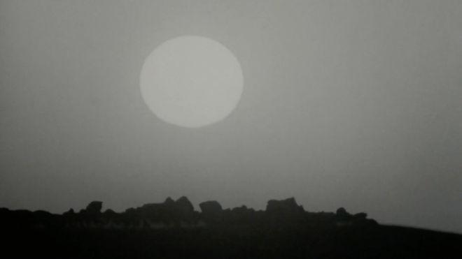 IMAGE: Grayscale sun
