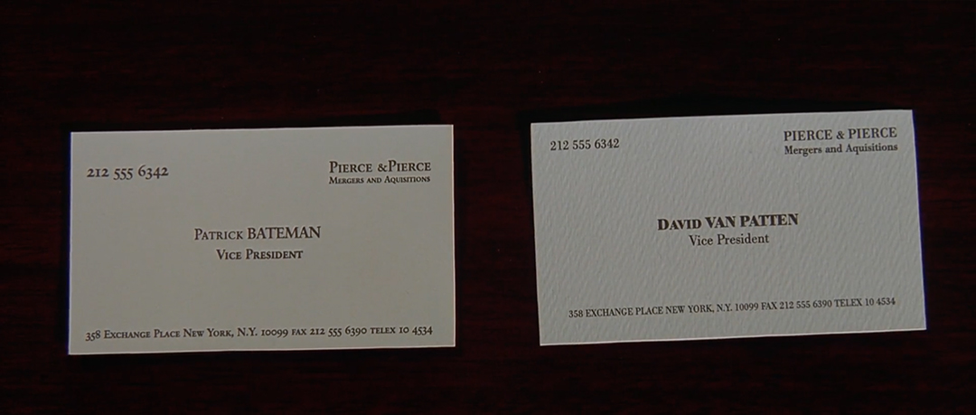 IMAGE: Still - two cards