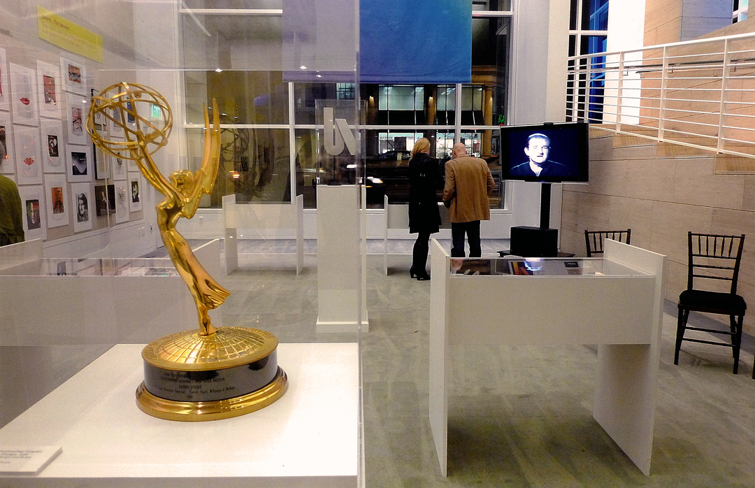 IMAGE: Photo - Exhibit at the Paley Center