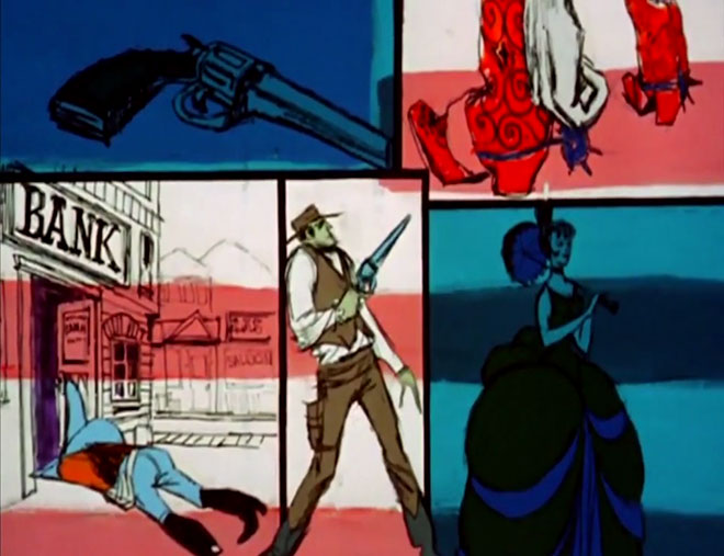 VIDEO: Title Sequence - The Wild Wild West (1965)