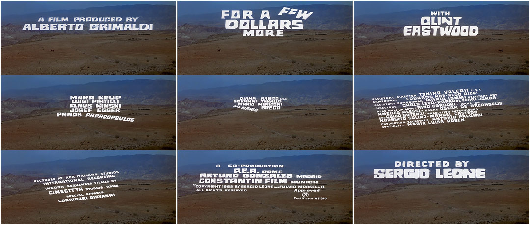 For a Few Dollars More (1965)