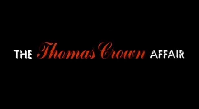 VIDEO: The Thomas Crown Affair (1968) Trailer