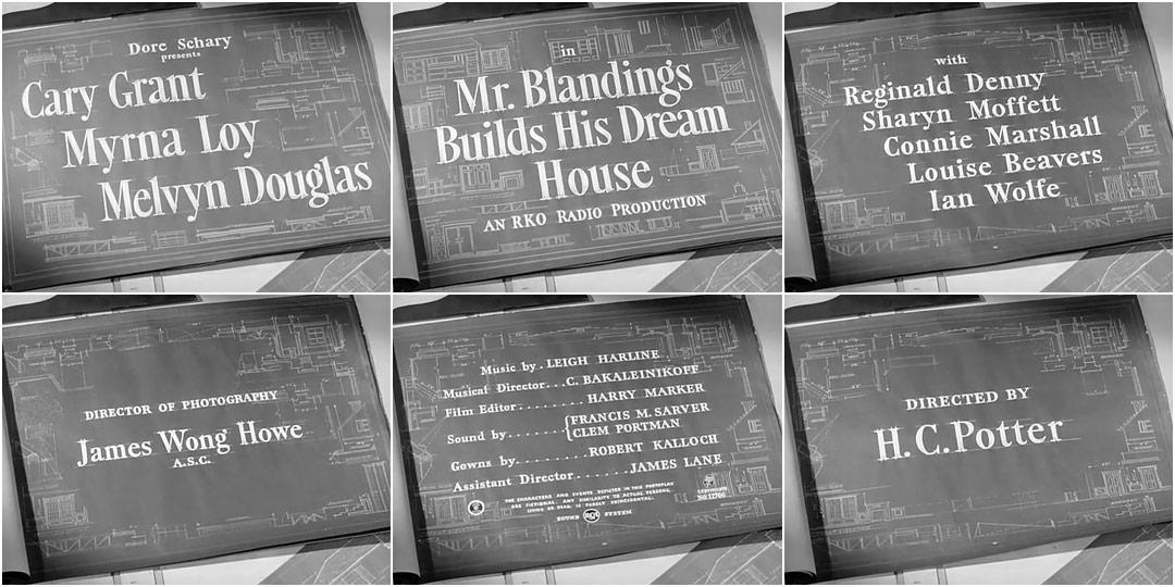 Mr. Blandings Builds His Dream House