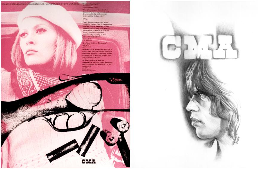 IMAGE: Ads -- Faye Dunaway, Mick Jagger