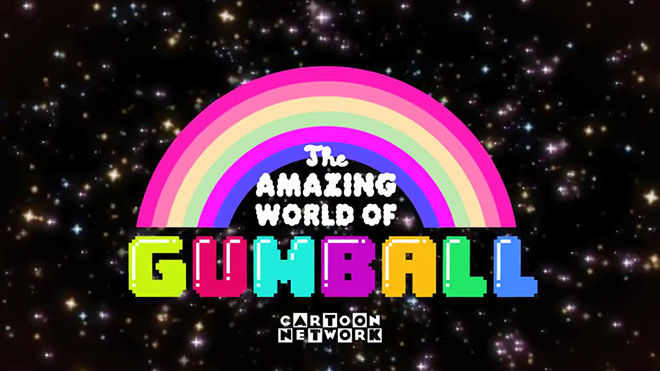VIDEO: The Amazing World of Gumball Intro