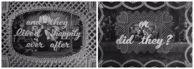 IMAGE: Still –They lived happily ever after... or did they?
