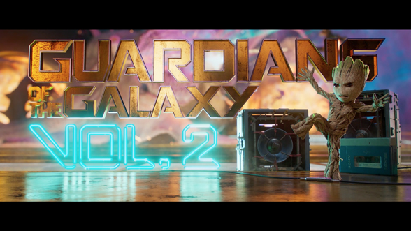 Guardians of the Galaxy Vol  2 (2017) — Art of the Title
