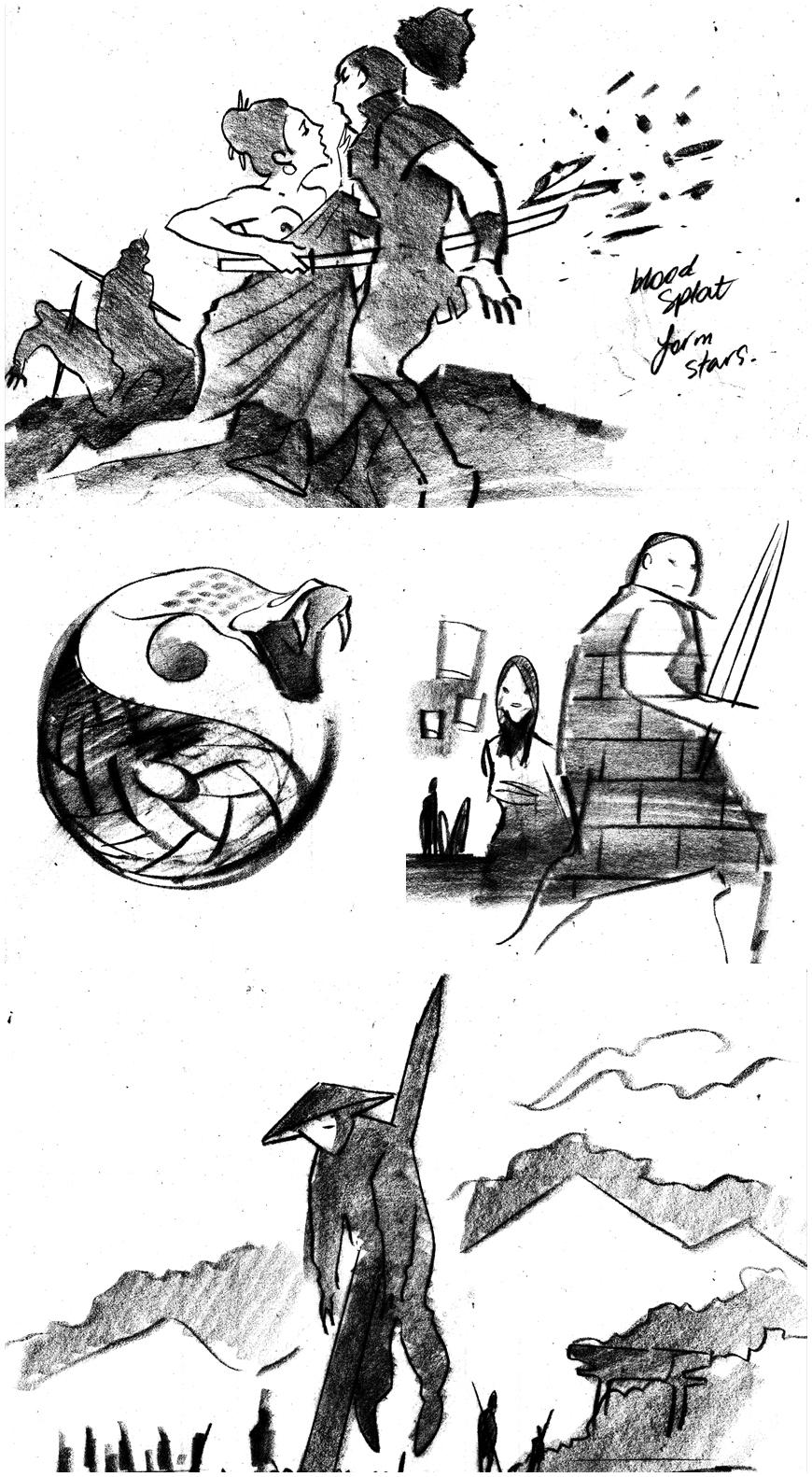 IMAGE: Mark Yates illustrated vignettes