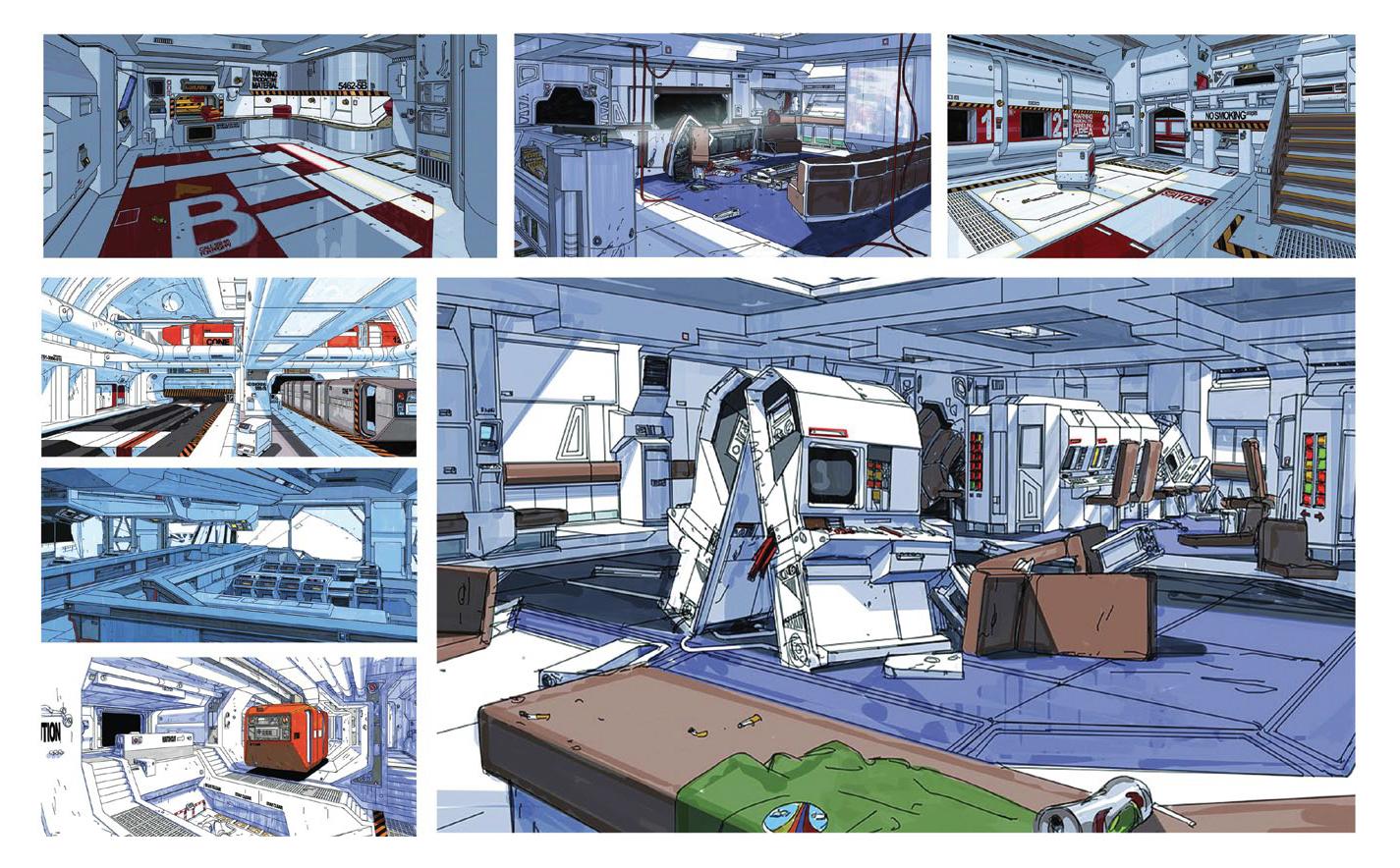 Alien 1979 Ship Concept Art