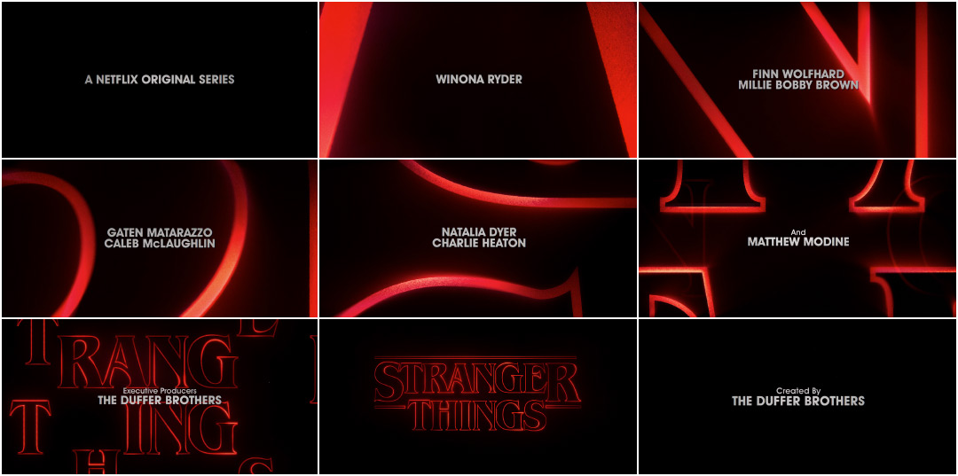 Stranger Things (2016) — Art of the Title