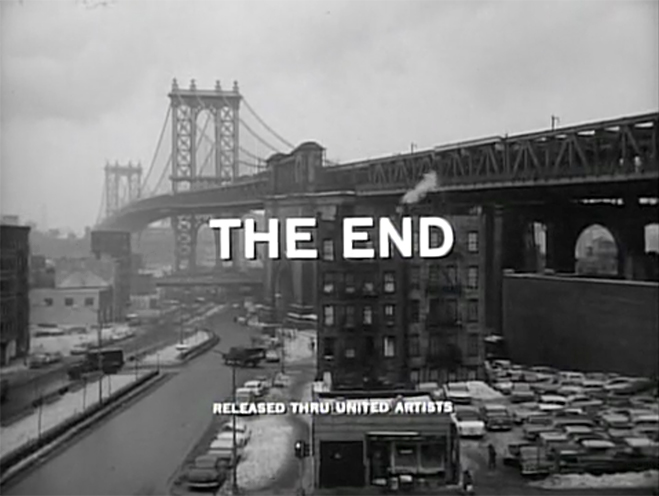 IMAGE: Supplementary – Something Wild (1961) End Title Card