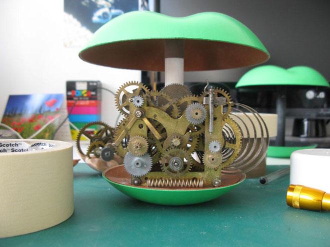 Apple clock parts