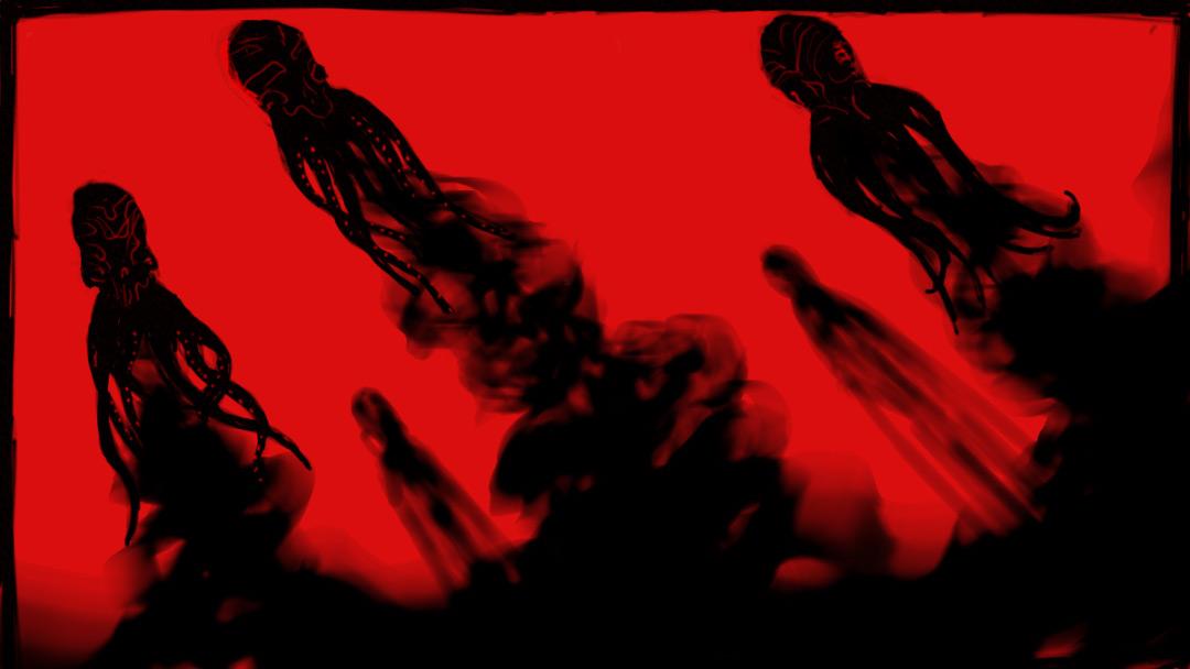 IMAGE: SPECTRE Octopus Sketch