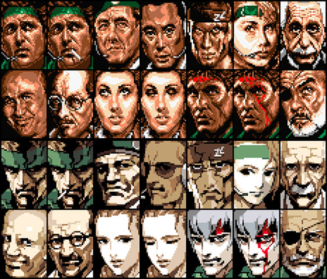 Image: Character Portraits Original and Updated