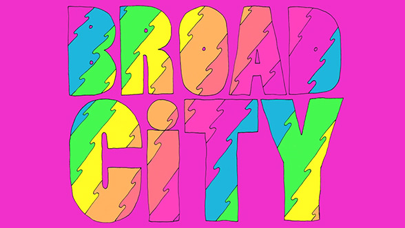 Broad City (2014) — Art of the Title